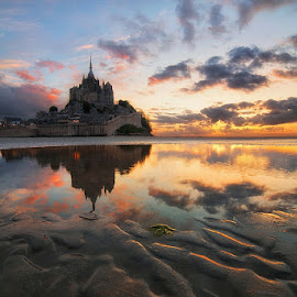 Magic light by Gianni Stoppani - Landscapes Sunsets & Sunrises ( san michele sunrise )
