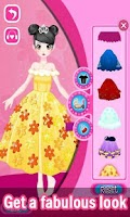 Screenshot of Dress Up! Pretty Princess