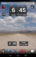 Screenshot of Retro Clock Widget