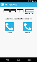 Screenshot of Rent A Car (Artic)