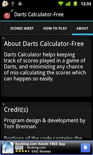 Darts Calculator Free