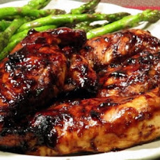Chicken in Balsamic Barbecue Sauce