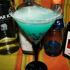 Official Blue Thong Martini
