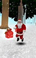 Screenshot of Run Santa, Run!