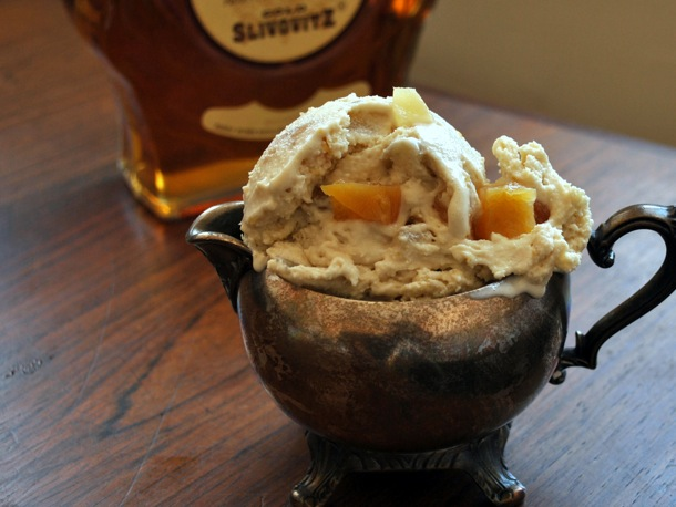 Scooped: Lemon, Honey, and Brandy (or Guggle Muggle) Ice Cream
