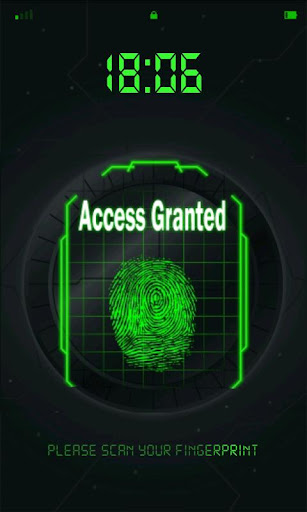 fingerprint-scanner for android screenshot