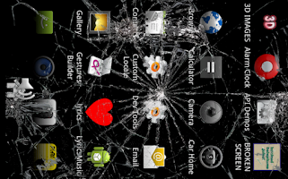Screenshot of Cracked Screen Prank