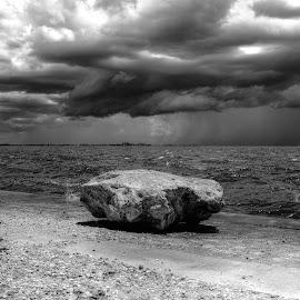 Umbrella-Proof by Mark Ayers-Stebenne - Landscapes Weather ( florida, tropical, cloud porn, weather, bridge, storm, waterway, sanibel island,  )