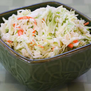Sugar-Free Coleslaw with Agave Nectar