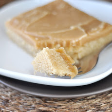 Peanut Butter Texas Sheet Cake