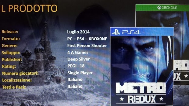 Rumours emerge of next-gen versions of Metro 2033 and Metro: Last Light