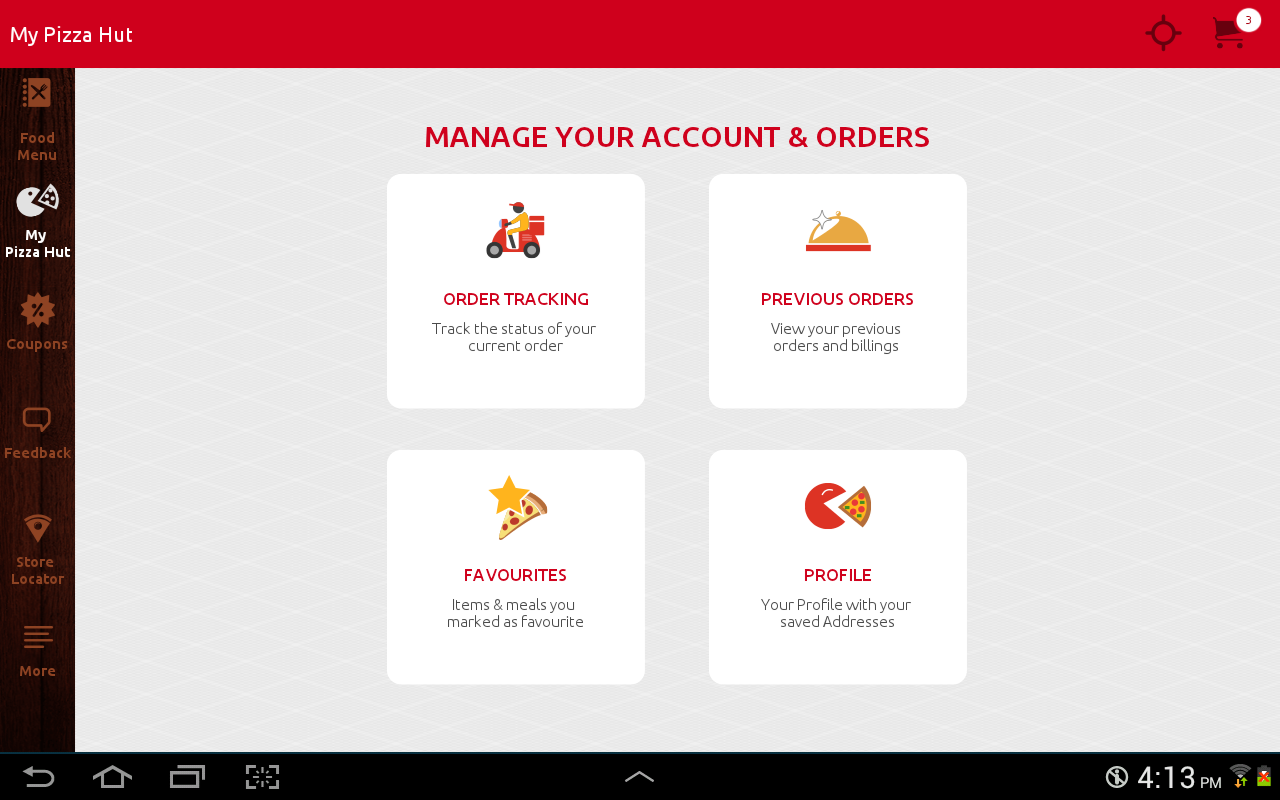 Pizza Hut India Screenshot 11