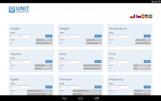 Screenshot of Unit Converter
