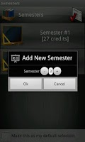 Screenshot of Student Tracker