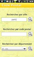 Screenshot of Code Postal - Gratuit