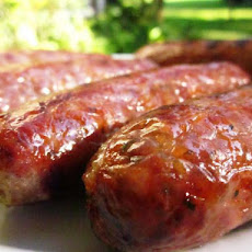 Grilled Sausages (Southern Living)