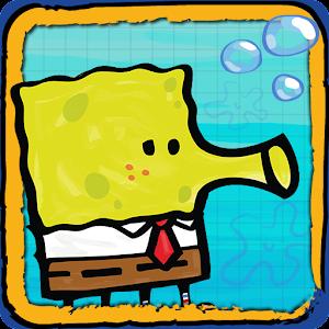 Cover art Doodle Jump SpongeBob