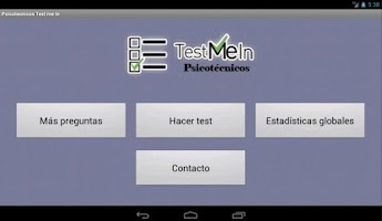 Screenshot of Psicotecnicos IQ Test me in...