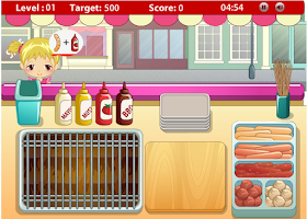 Screenshot of Diner Grill Time
