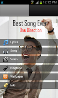 Screenshot of Best Song Ever 1D