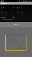 Screenshot of Free Geometry Solver