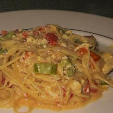 Chicken Chile Spaghetti