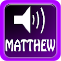 Talking Bible, Matthew