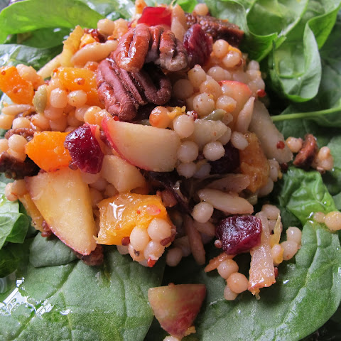Israeli Couscous with Butternut Squash and Cranberries Recipe | Yummly