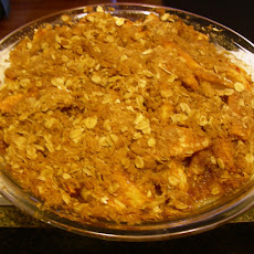 Birthday Apple Crisp