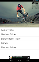 Screenshot of Bmx Tricks Tutorial