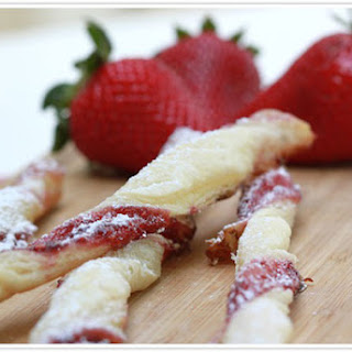 Breakfast Jam Straws