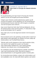 Screenshot of Eredivisie Info