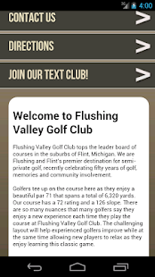 Flushing Valley Golf Club - screenshot
