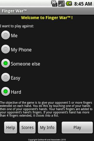 Finger War