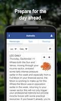 Screenshot of Horoscopes & Tarot