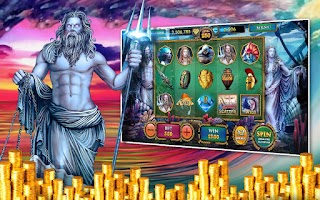Screenshot of Slots Poseidon's Kingdom Pokie