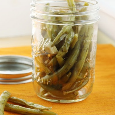 Sweet 'n Spicy Picked Green Beans
