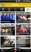 Screenshot of CSUB Athletics: Free