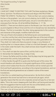 Gospel According To Spiritism - screenshot