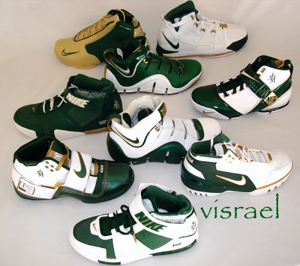 Ultimate SVSM Nike LeBron Collection from Visrael