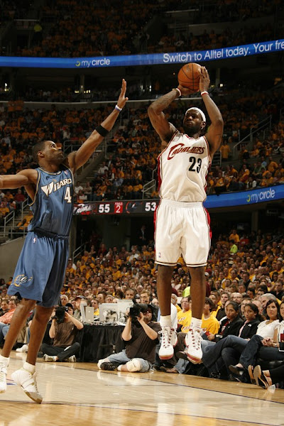2008 NBA Playoffs R1G5 Wizards Escape Elimination