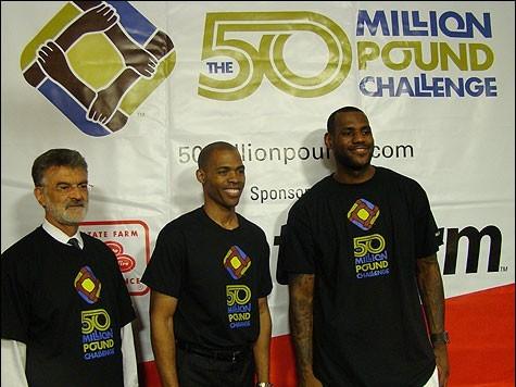 LeBron James Urges Fans Towards Healthier Lifestyle