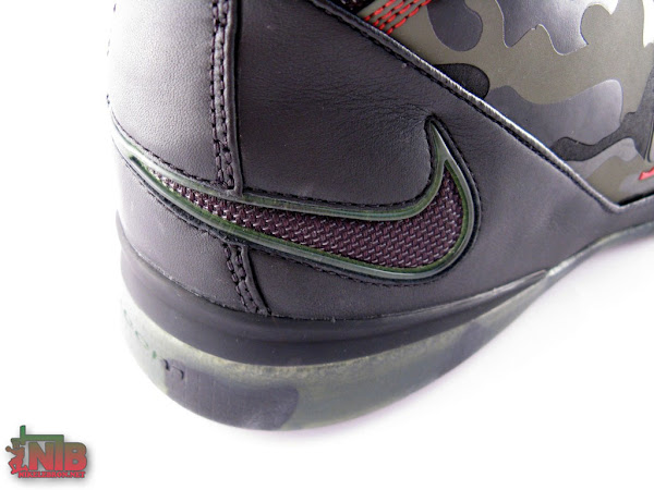 Camos Nike Zoom LeBron Soldier II Head to Head Comparison