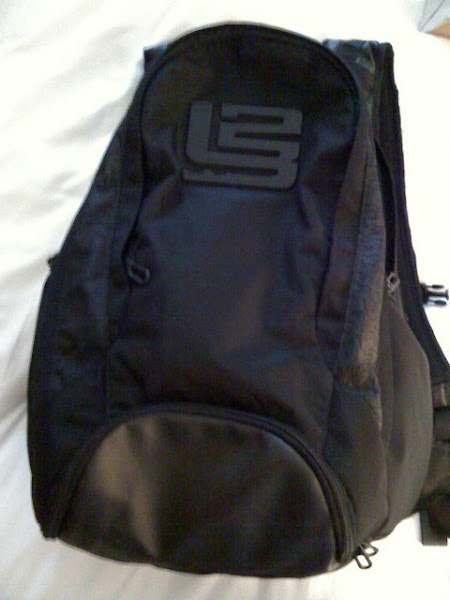 Nike Zoom LeBron Six 8211 VI 8211 Black Backpack Preview