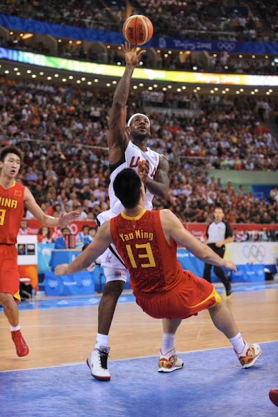 Lead by LeBron James USA Team Cruises Past Host China