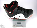 lebron4 black white red ounce Weightionary