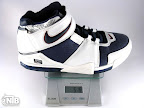 lebron2 white navy gram Weightionary