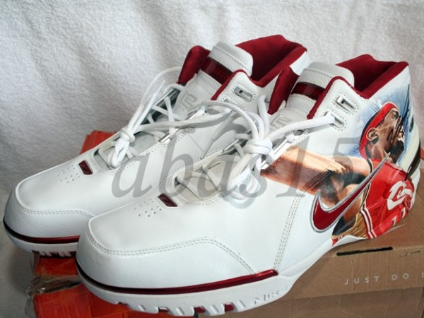 UDA Lebron James Artist Painted Air Zoom Generation