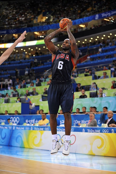 King James and USA Team Handle Spain a Blowout Loss