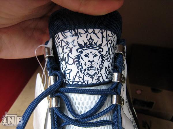 WhiteNavy Nike Zoom Power 8211 ZLVI Sample 8211 Close Up